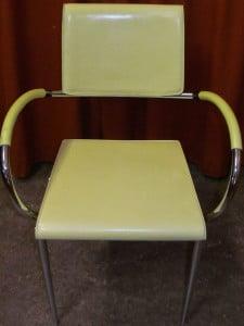 Stuhl gereinigt